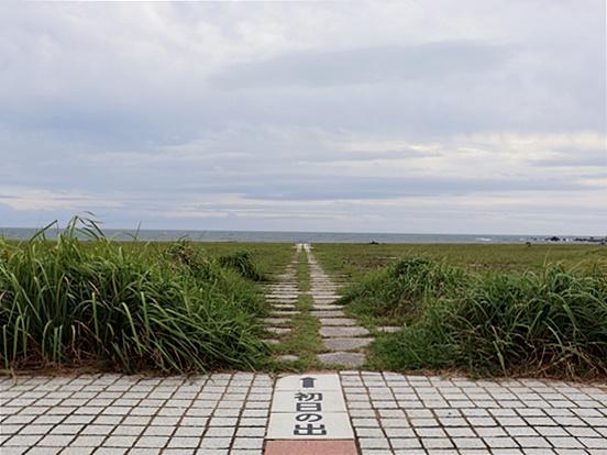 君ヶ浜・初日の出552×414