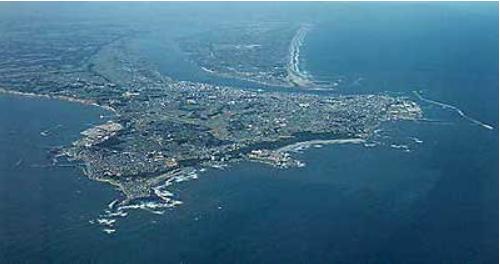 銚子市の位置・地勢